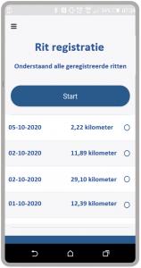 Rit Registratie app